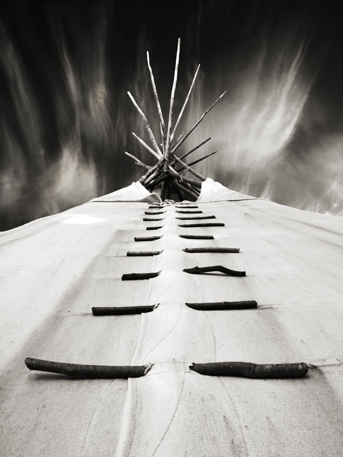 Photograph Teepee by Peter Baumgarten on 500px