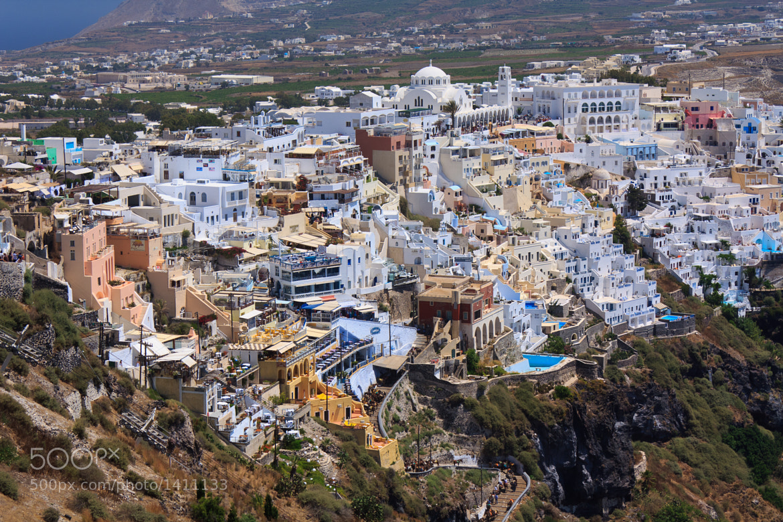 Photograph Thira, Santorini by Florin Bandas on 500px