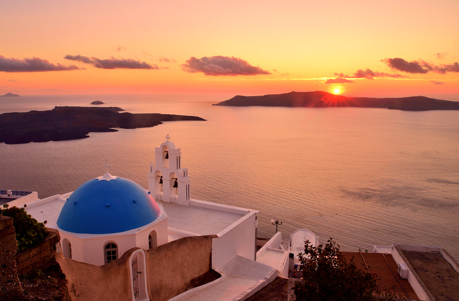 Sunset at Santorini by Shuchun Du on 500px.com