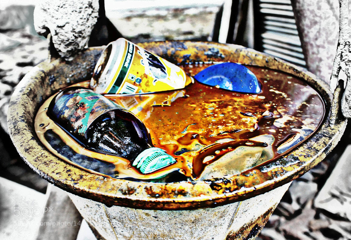 Photograph a bucket of pollution  by AnakMawi CucuIshak on 500px