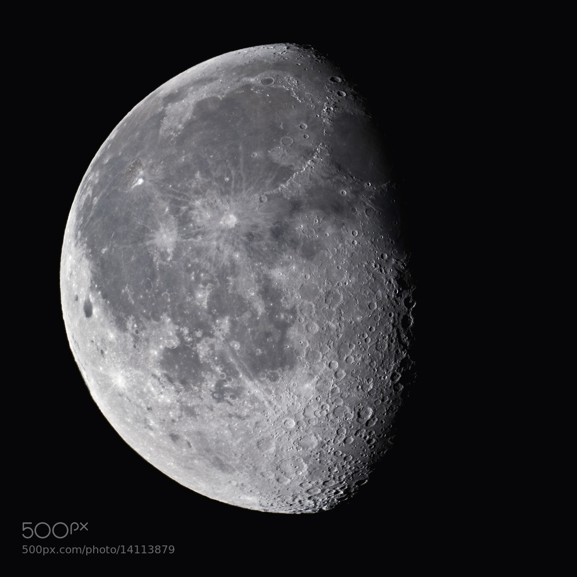 Photograph Moon age 19.6 by JooYoung Kim on 500px