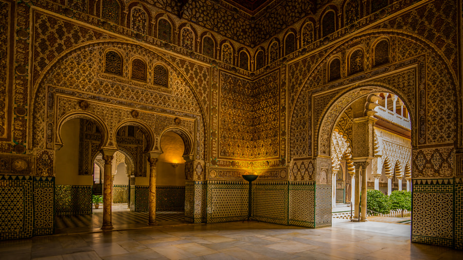 Inside the Real Alcazar by John Wright on 500px.com