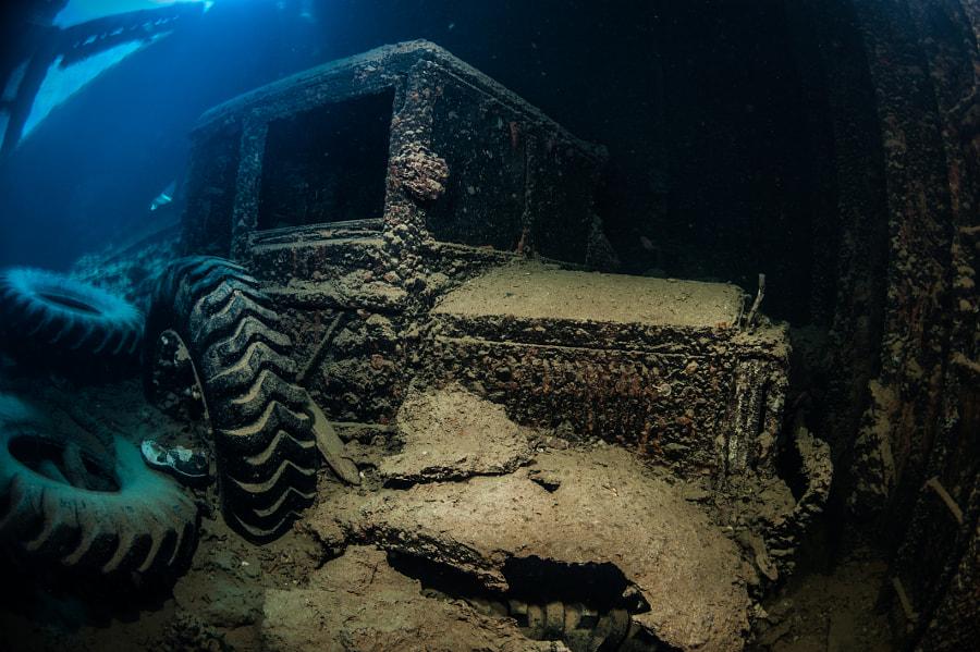 Truck #4 at SS Thistlegorm Wreck