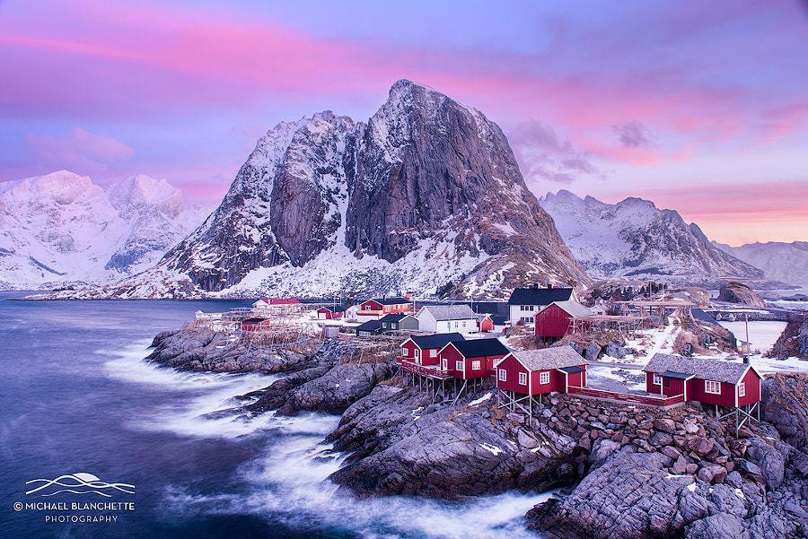 Red Cabins by Michael Blanchette on 500px.com