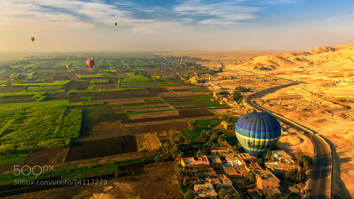 Photograph Egypt's Sky by Anuparb Papapan on 500px
