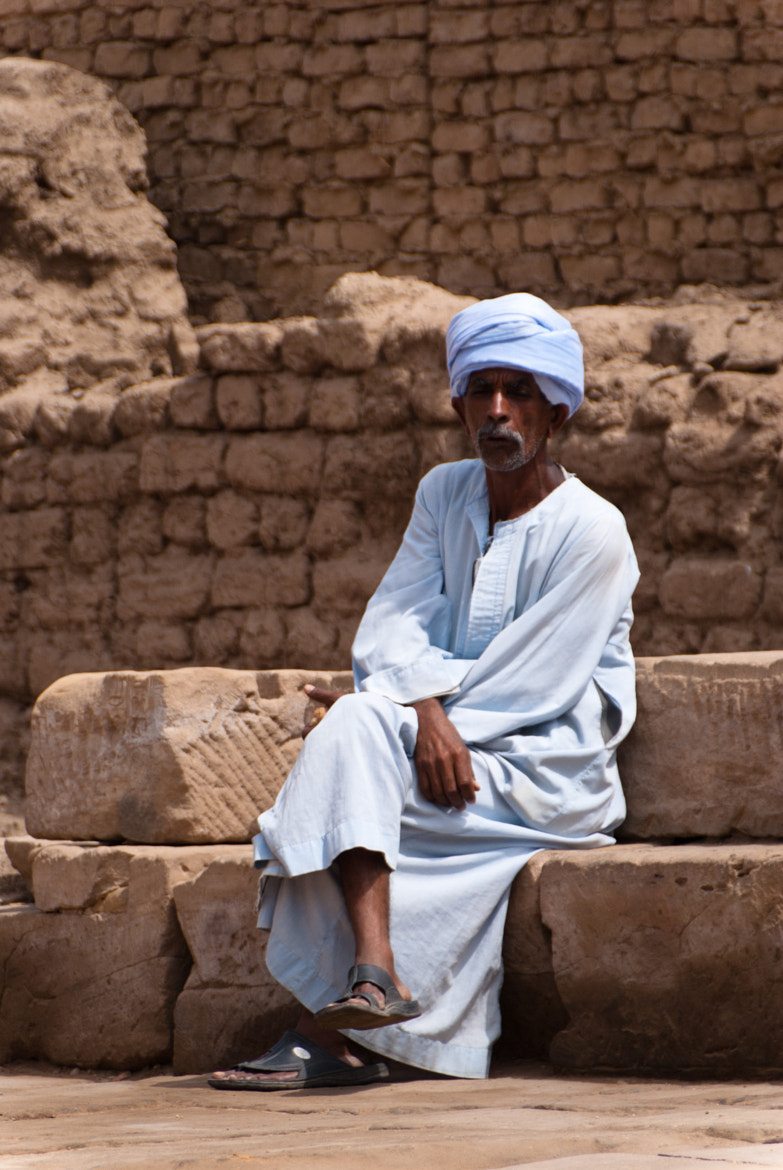 Photograph Beggar at Edfu by Dennis Wright on 500px