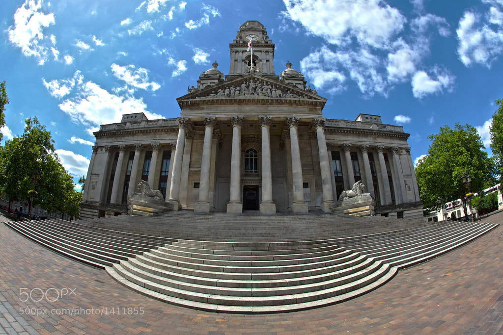 Photograph Portsmouth Guildhall HDR by Ajay Karwal on 500px