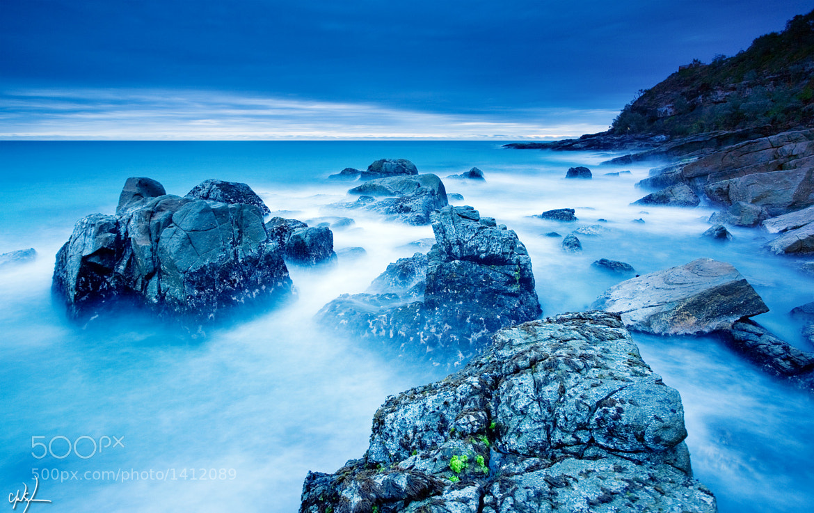 Photograph Blue by Chad Solomon on 500px