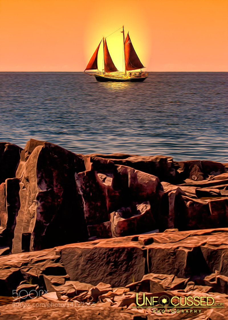 Photograph Sailing in Grand Marais by Bill Tiepelman on 500px