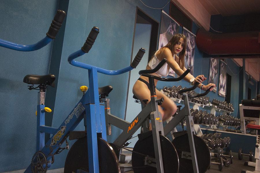 Flor in Gym
