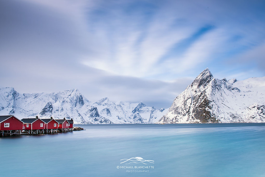 Red on Blue by Michael Blanchette on 500px.com