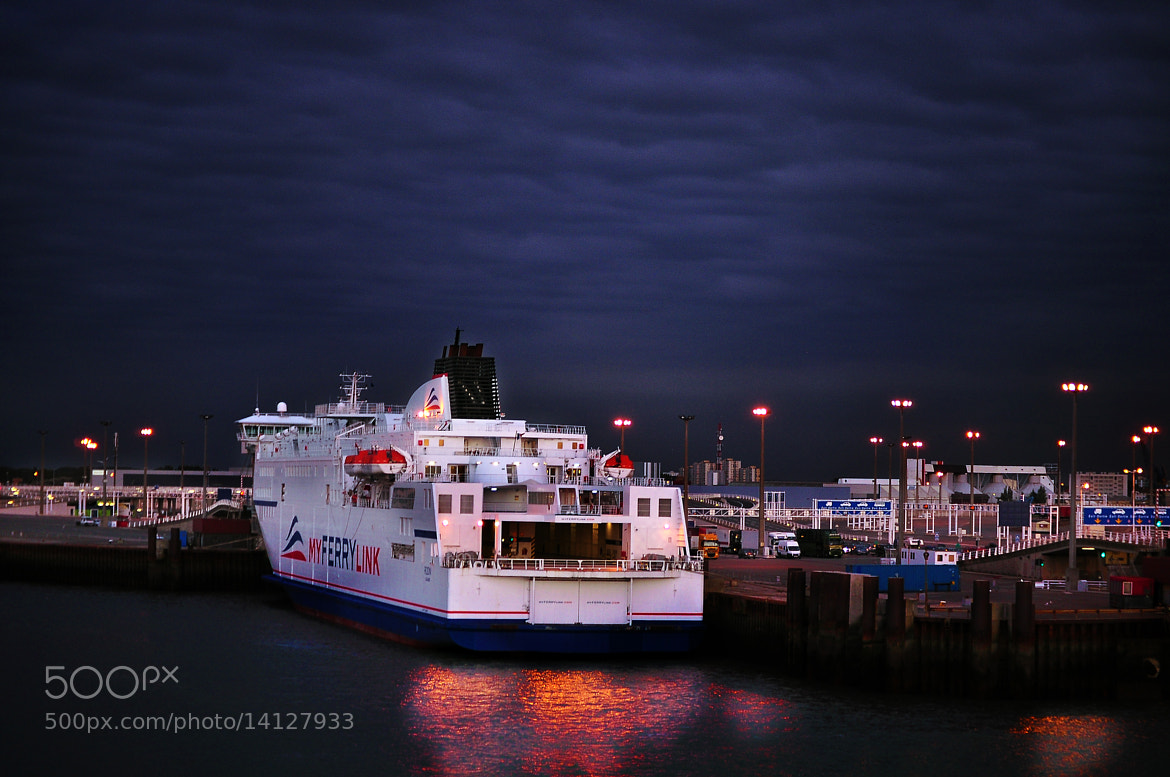Photograph evening Harbour by Jozsef Balogh on 500px