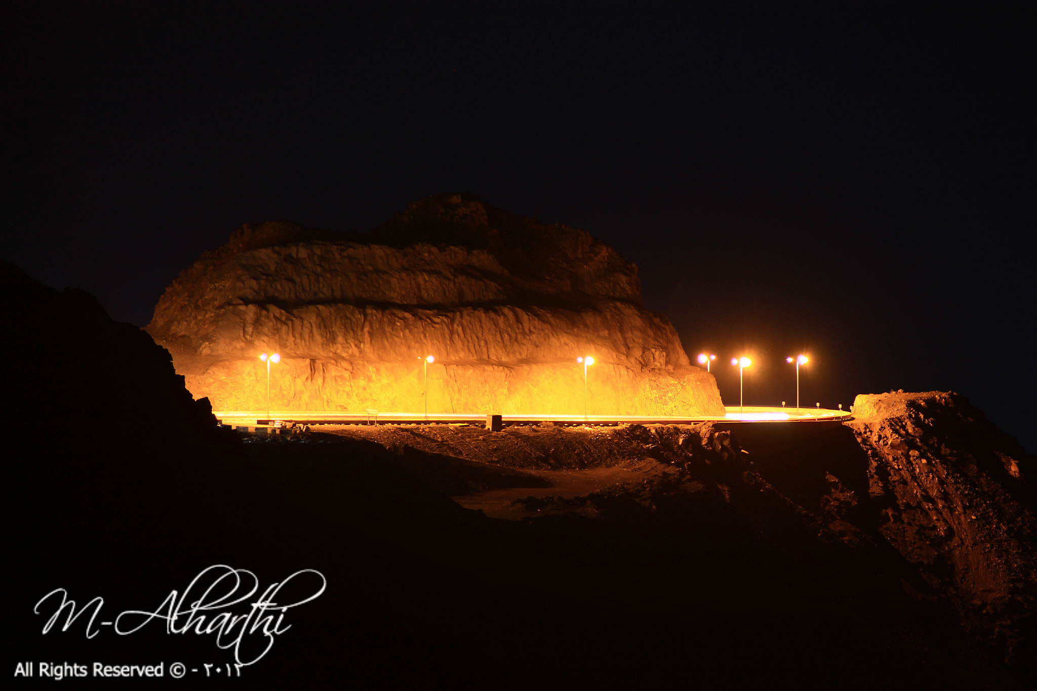 Photograph Lighting way .. by Mohammed Al-harthi on 500px