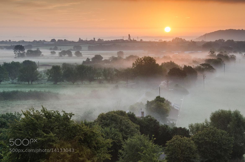 Photograph Burrow Mump Sunrise by Bob Small on 500px