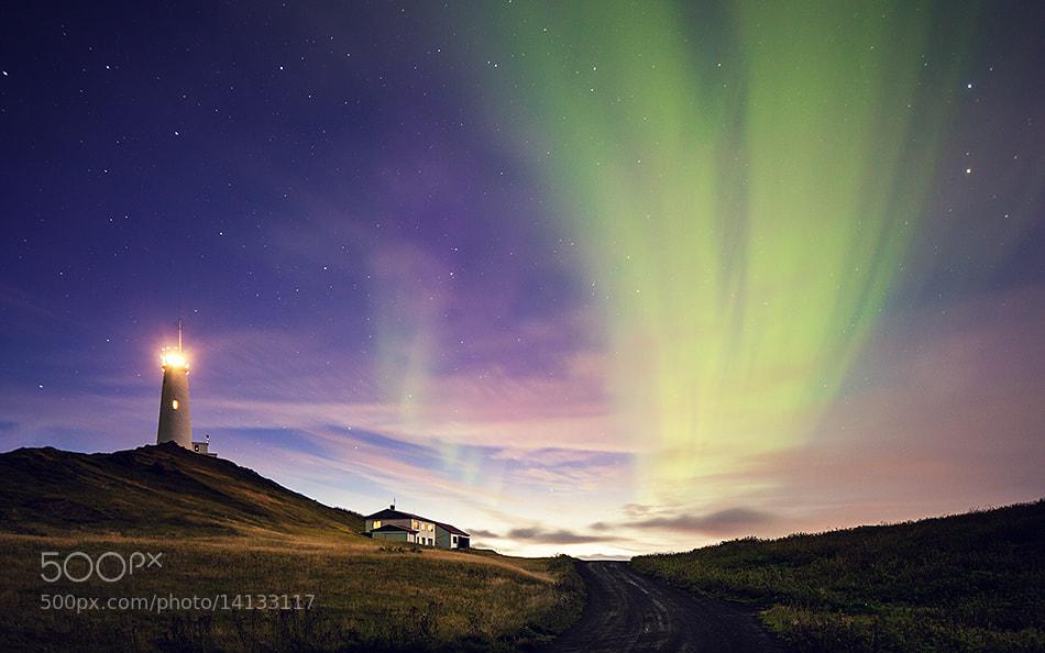 Photograph reykjanesviti lighthouse by Jens Fersterra on 500px