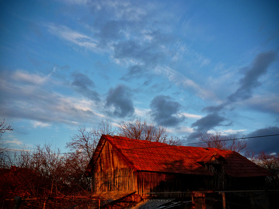 The Old Barn in the morning by Vasile Guta-Ciucur on 500px.com