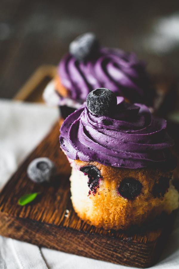 Blueberry cupcakes by Vladislav Nosick on 500px.com