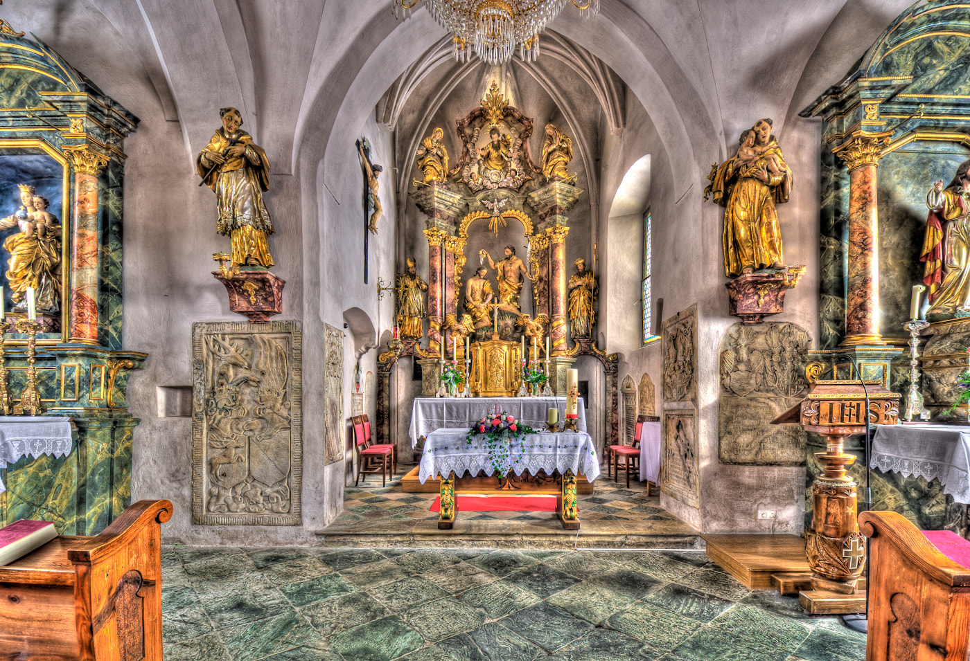 Photograph Inside the church by Paul Werner Suess on 500px