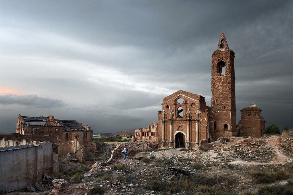 Photograph Belchite by Iñaki Gomez on 500px