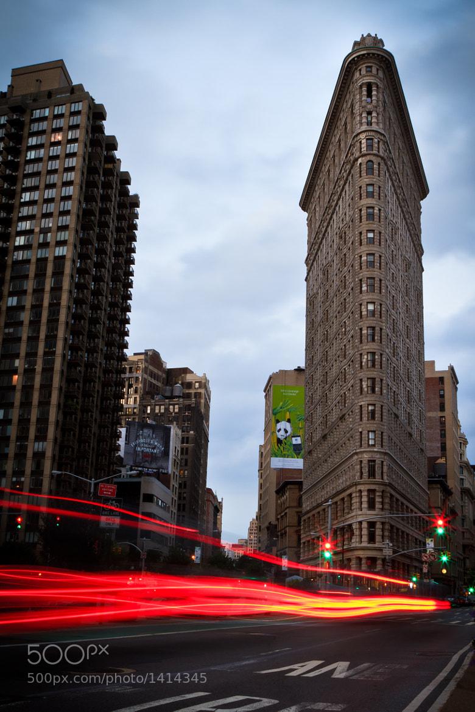 Photograph Flatiron Glow by Brian Eden on 500px