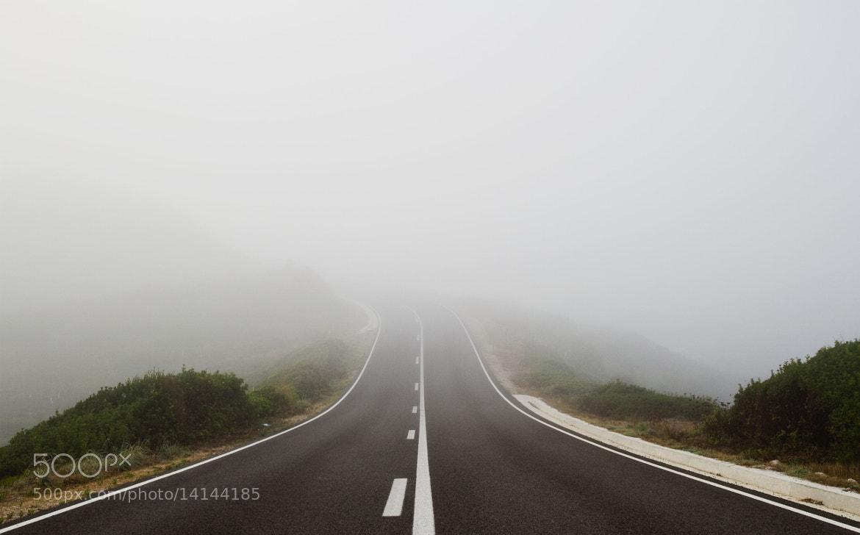 Photograph Carretera y niebla. by Federico Rodriguez Olivera on 500px