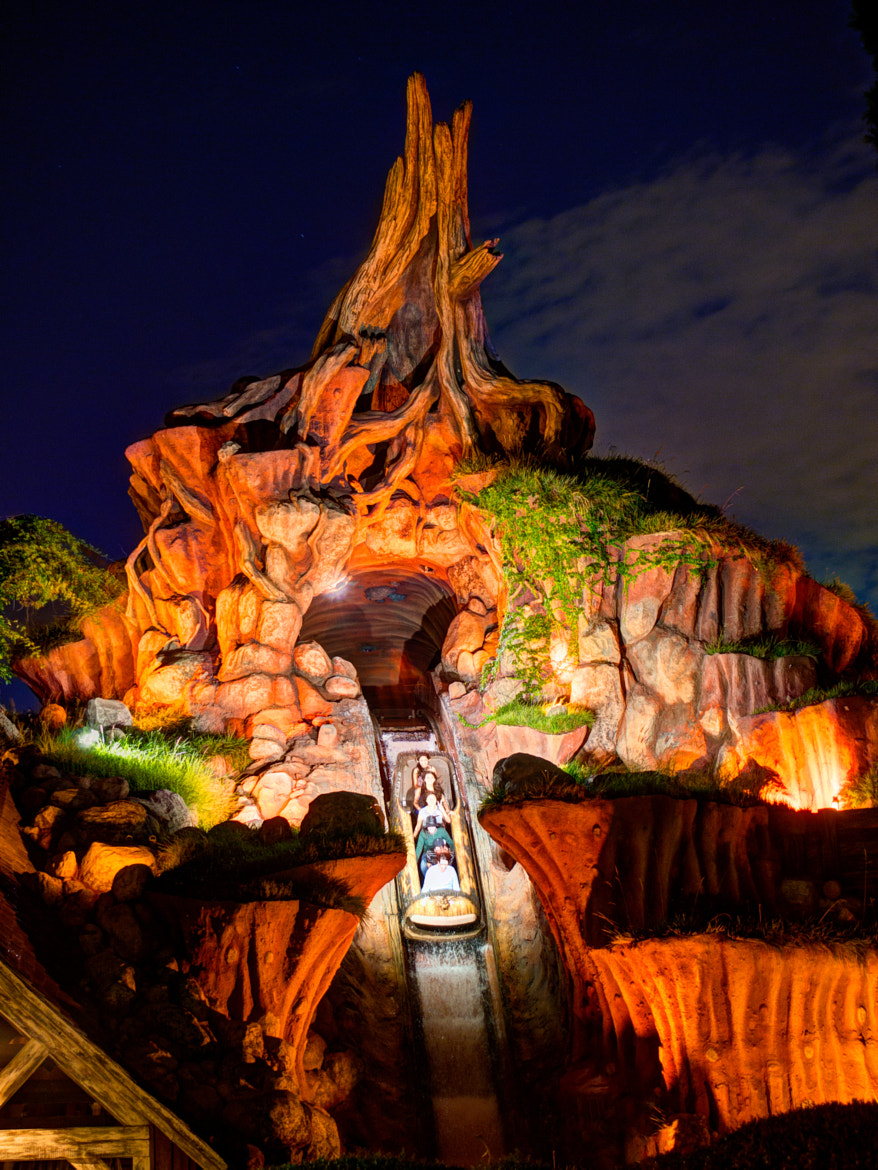 Photograph Splash Mountain at Disneyland by Norm Lanier on 500px