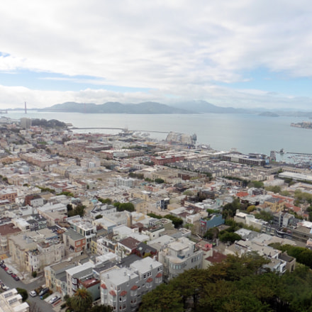 View from Coit Tower, Panasonic DMC-ZS35