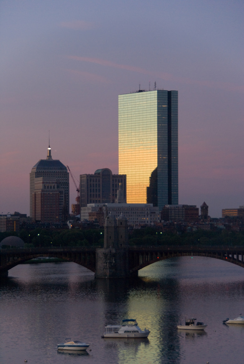 Photograph Boston Cityscape at Dawn by Dennis Wright on 500px