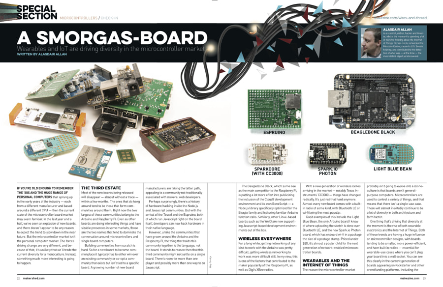 Make: Issue 43 Boards Article