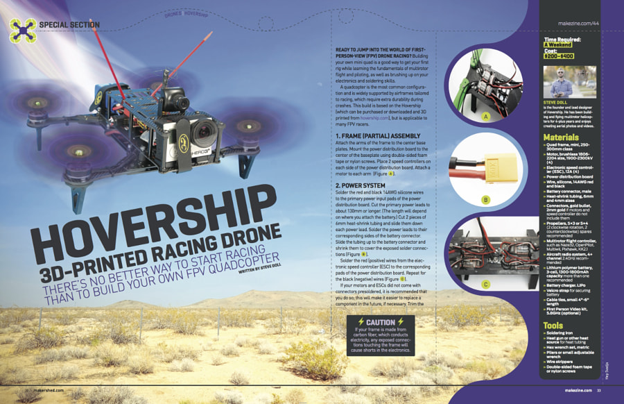 Make: Issue 44 - Hovership