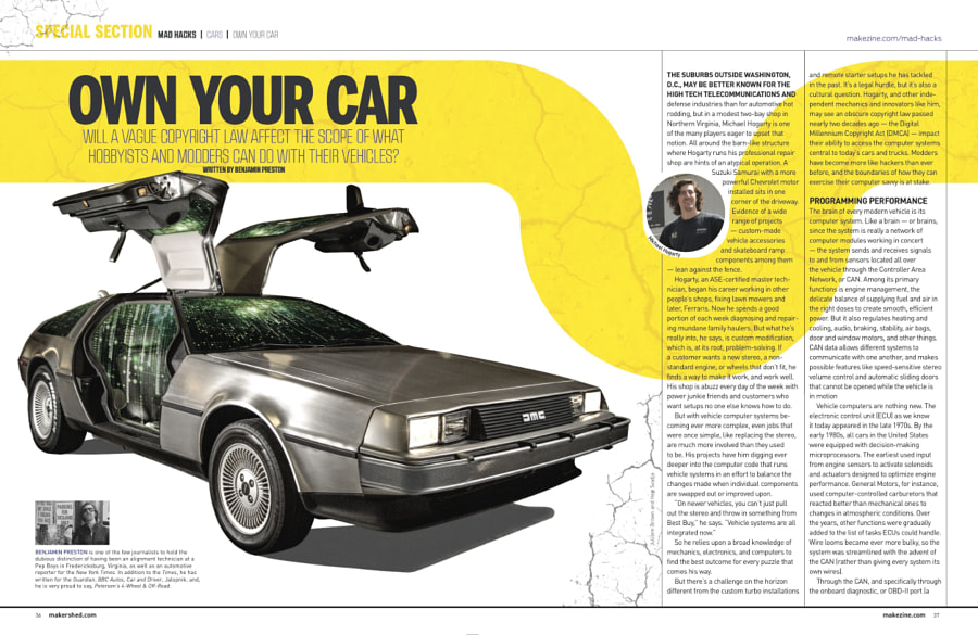 Make: Issue 46 - Own Your Car
