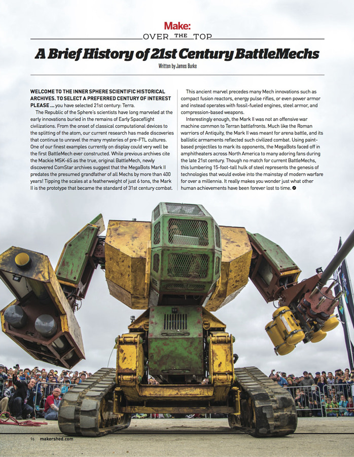 Make: Issue 46 - Over The Top