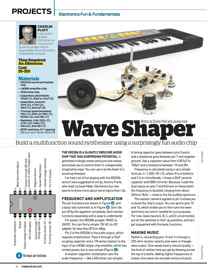 Make: Issue 47 - Electronics Fun & Fundamentals