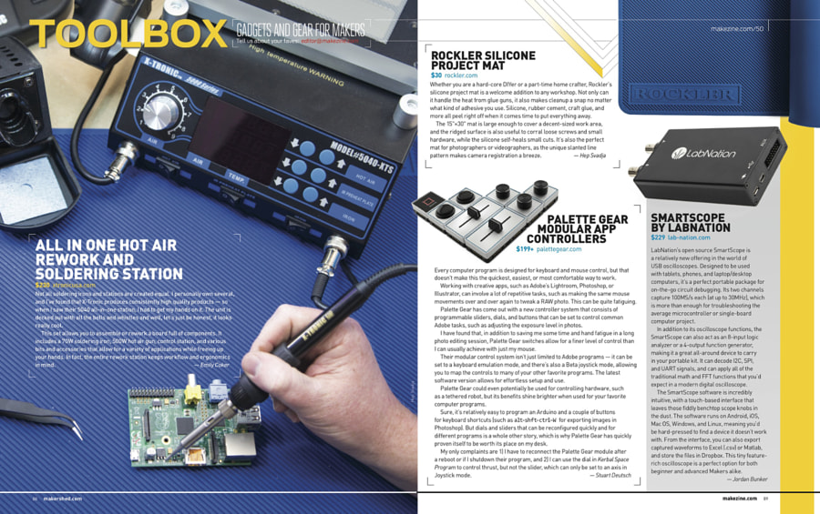 Make: Issue 50 - Toolbox