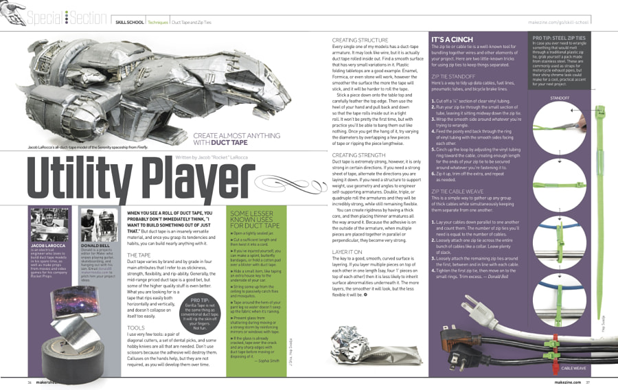Make: Issue 50 - Skills: Duct Tape