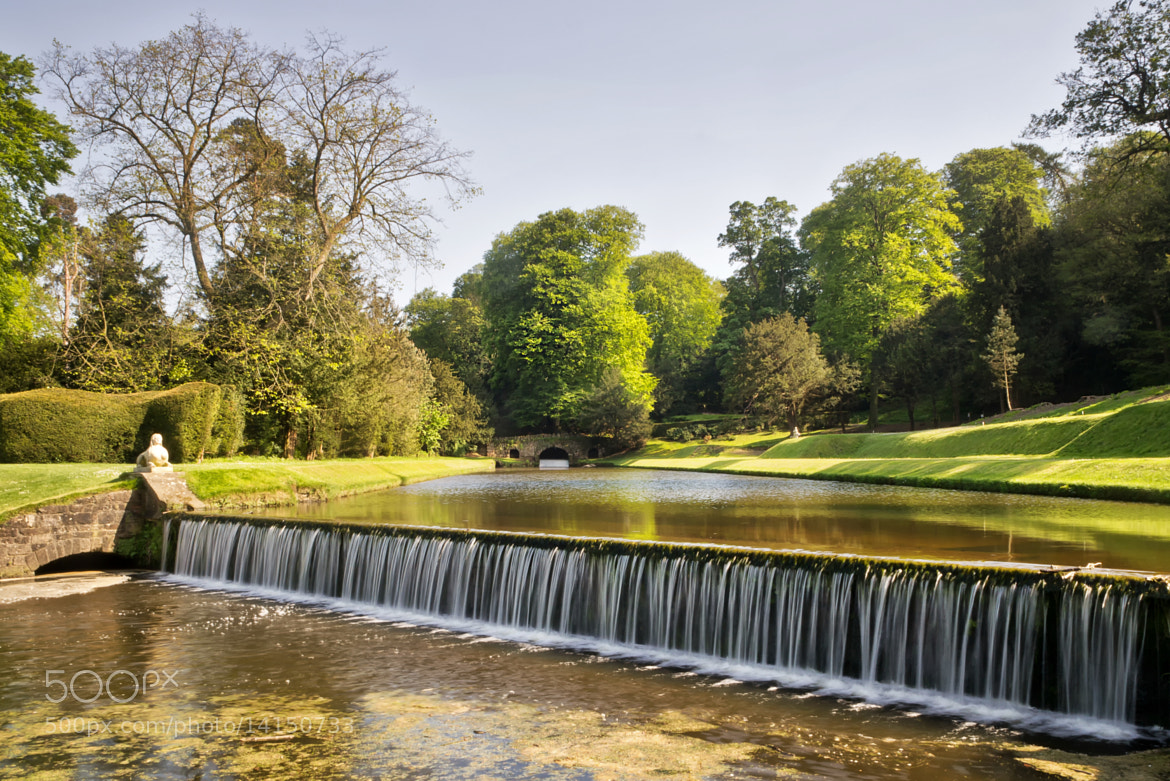 Photograph Fountains Abbey Cascade by Chris Frost on 500px