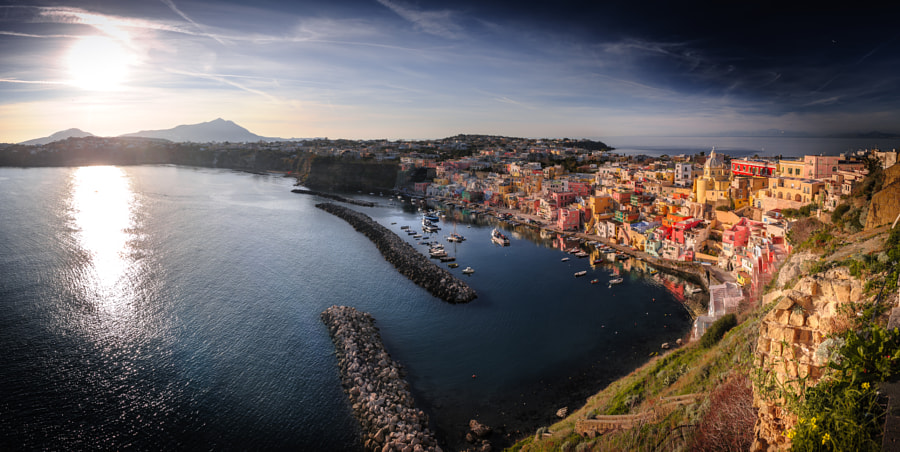 Procida panorama by Damien Tachoires on 500px.com