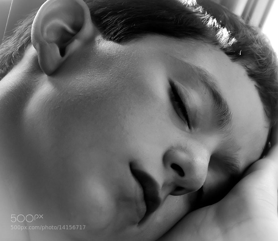 The prince sleeps...