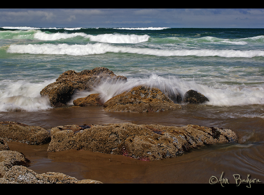 Photograph Waves coming in by Ann Badjura on 500px