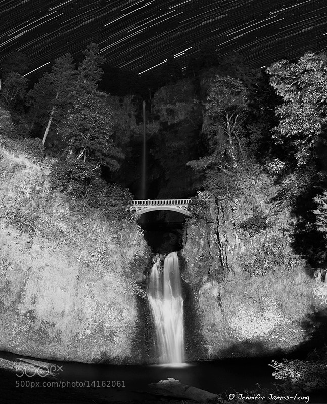 Photograph Multnomah Falls by Night by Jennifer James-Long on 500px