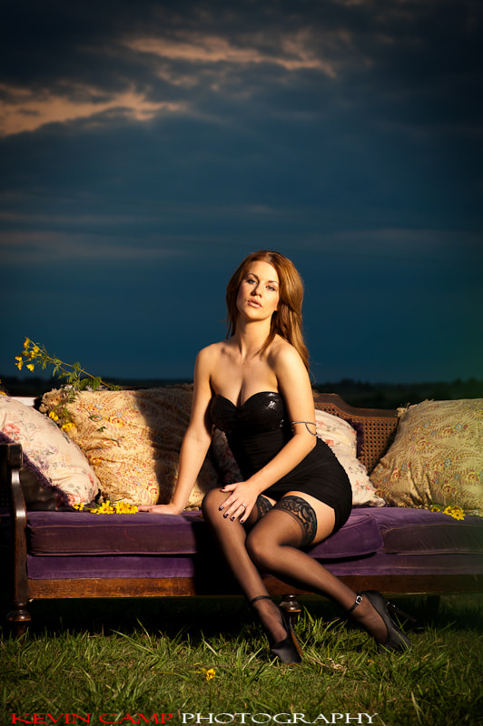Photograph black stockings by Kevin Camp on 500px