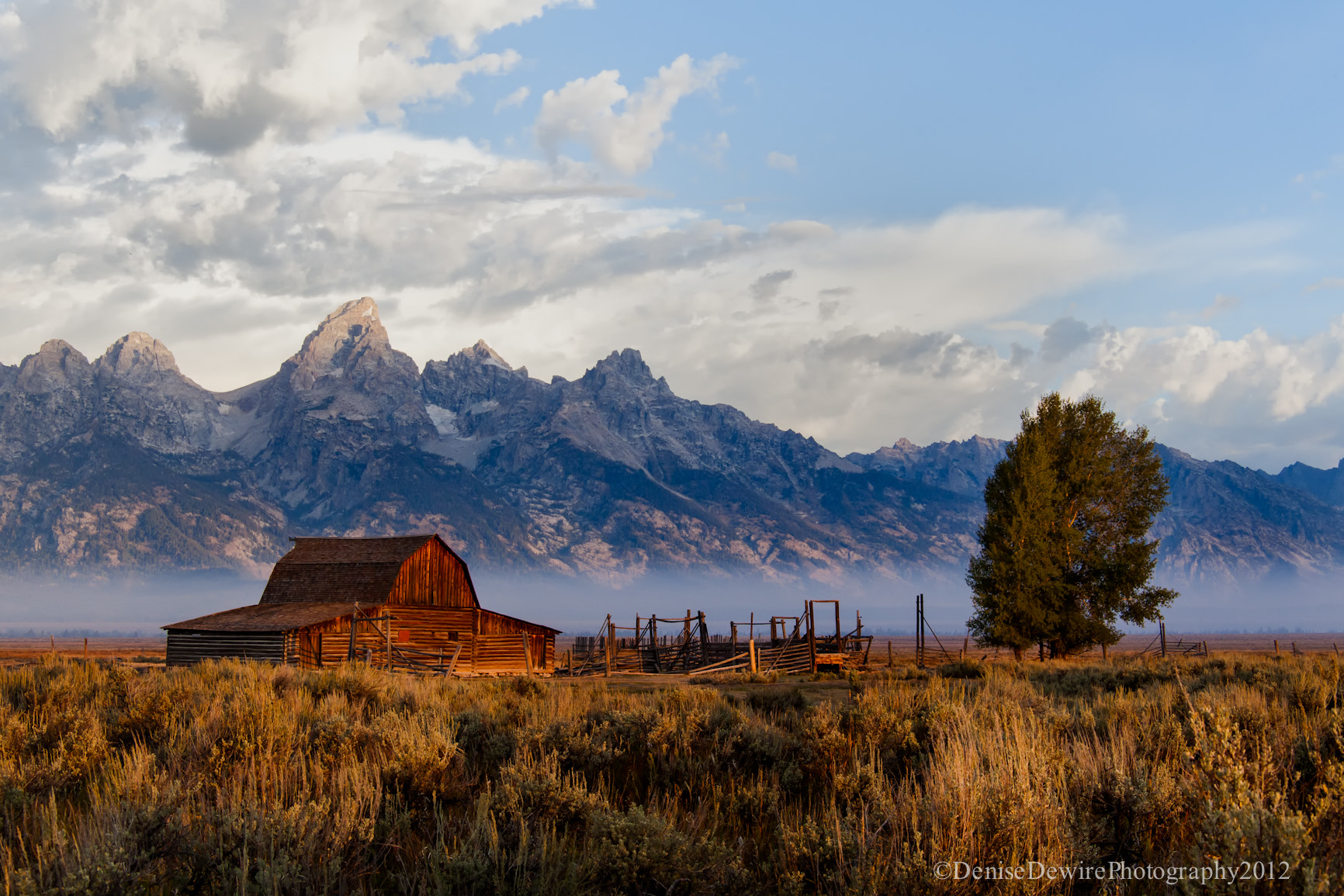 Photograph Moulton Barn on Mormon Row by Denise Dewire on 500px