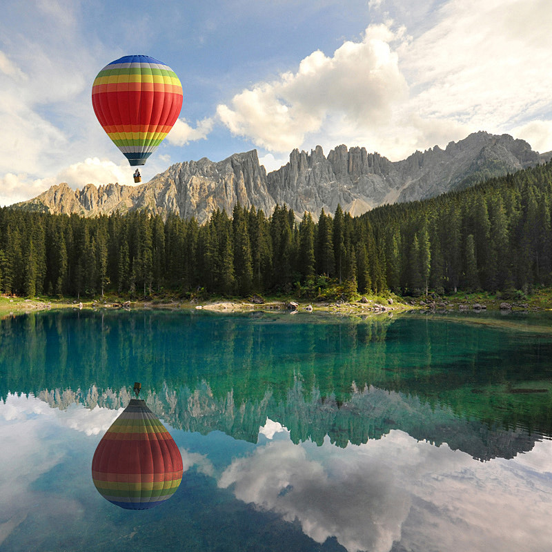 Photograph Balloon flight over the Dolomites by Franco Mottironi on 500px