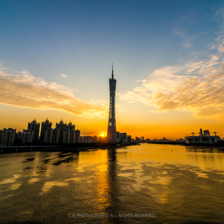 Canton Tower, Sony NEX-5R, Sony DT 50mm F1.8 SAM (SAL50F18)