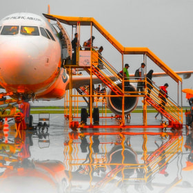 One rainy morning at the airport tarmac. by Vey Telmo (virtel2)) on 500px.com