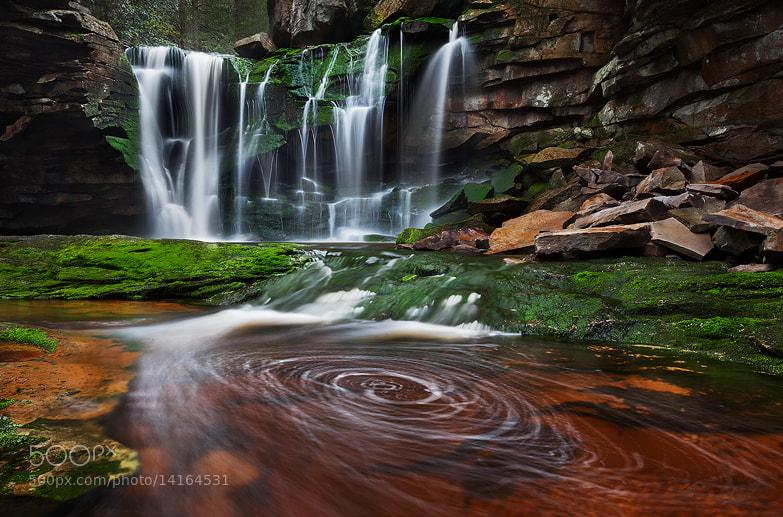 Photograph Elakala Falls by Sarah Marino on 500px