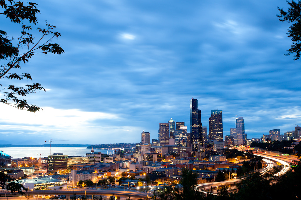 Photograph 15 Seconds Over Seattle by Edwin Abedi on 500px