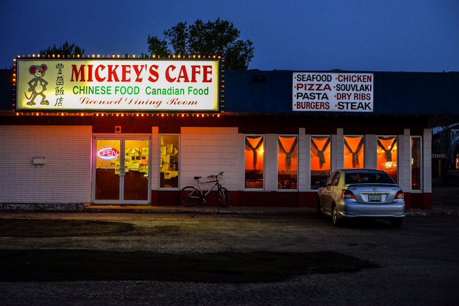 Photograph Mickey's Cafe by Dave McGrath on 500px