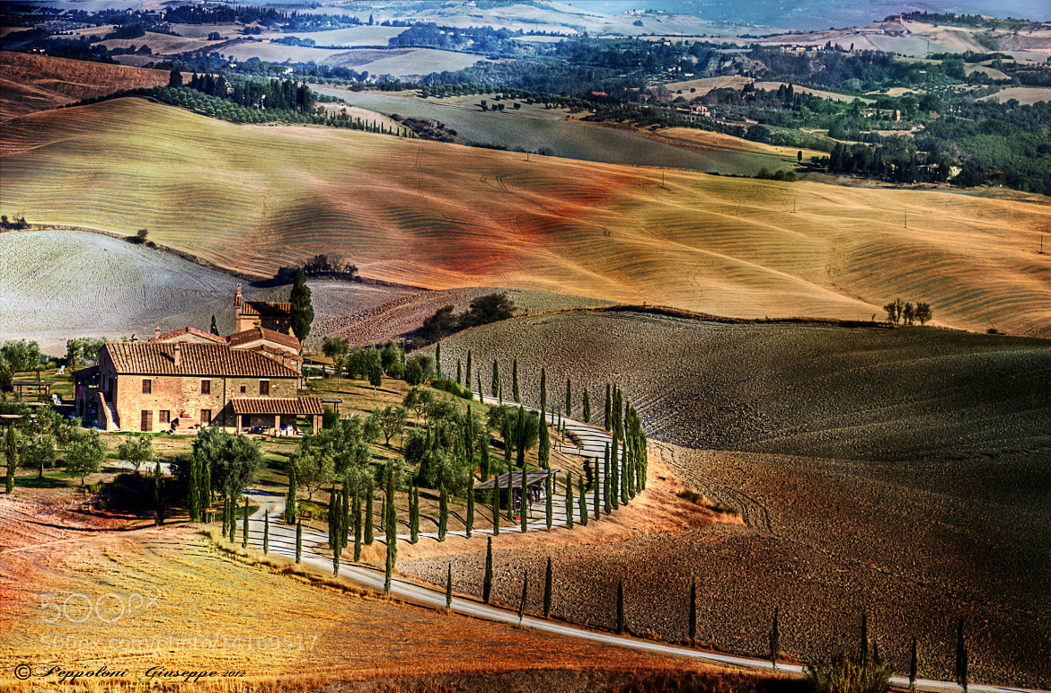 Photograph Land of Tuscany ♠ by Giuseppe  Peppoloni on 500px