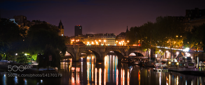 Photograph Pont des arts et la pointe de l'île Saint-Louis - Paris by Jürgen GOLDHORN aka MKZ One-Shoot on 500px